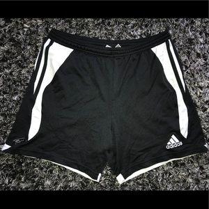 Women's black and white Adidas Shorts